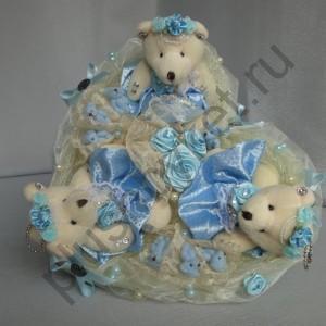 Букет из игрушек БИ157 Рождение чуда