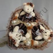 Букет из игрушек БИ156 Шоколадка