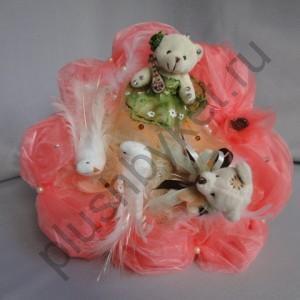 Букет из игрушек БИ143 Свадебный 1