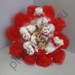 Букет из игрушек БИ178 Овечка lave2