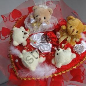 Букет из игрушек БИ164  Свадьба