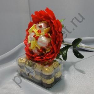 Букет из конфет БК223 Пион мини