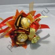 Букет из конфет  БК263 Для первоклассника