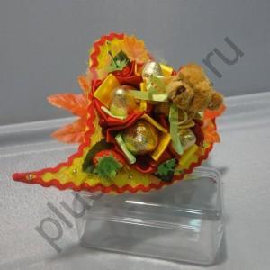 Букет с конфетами БК254 Сладкий миша