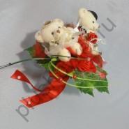 Букет дублер невесты БИ236 красный