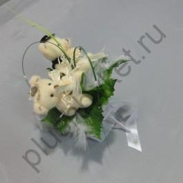 Букет дублер невесты БИ237 белый