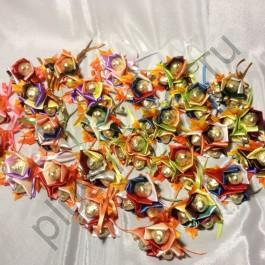 Микро-букет из конфет БК333