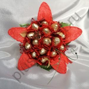 Композиция из конфет БК328 Цветок