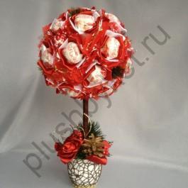 Топиарий из конфет БК334 Раффаэлло