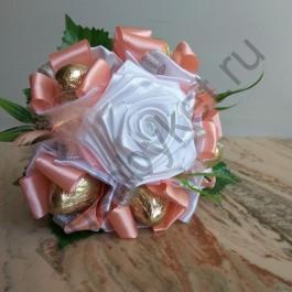 Мини-букет БК358 розовый