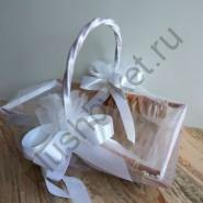 Корзина свадебная К361 для лепестков роз