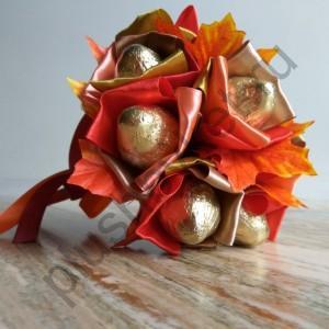 Осенний букет БК360 из конфет