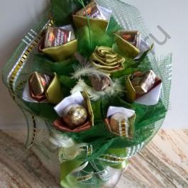 Букет из конфет мини БК363 вертикальный