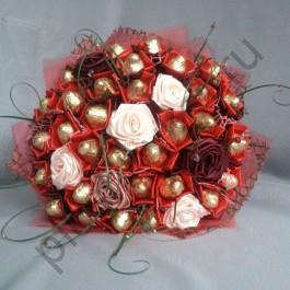 Букет из конфет БК347 Ретро стиль