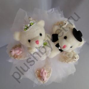 Букет из игрушек БИ134 Свадебный
