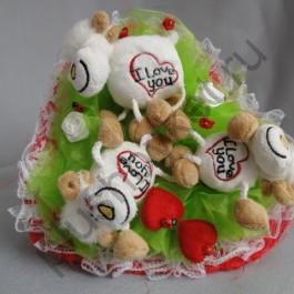 Букет из игрушек БИ118 овечка lave