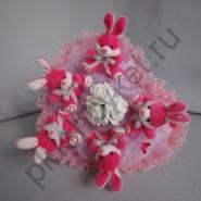 Букет из игрушек БИ119 Розовый сад