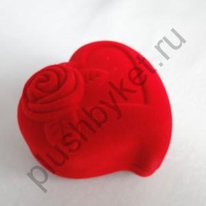 Ф107 Сердечко с розой