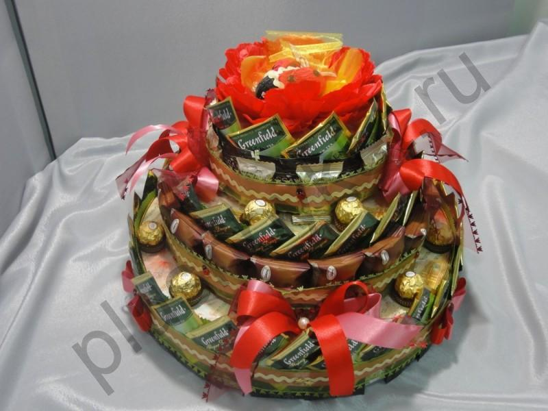 Торт из чайных пакетиков своими руками 58